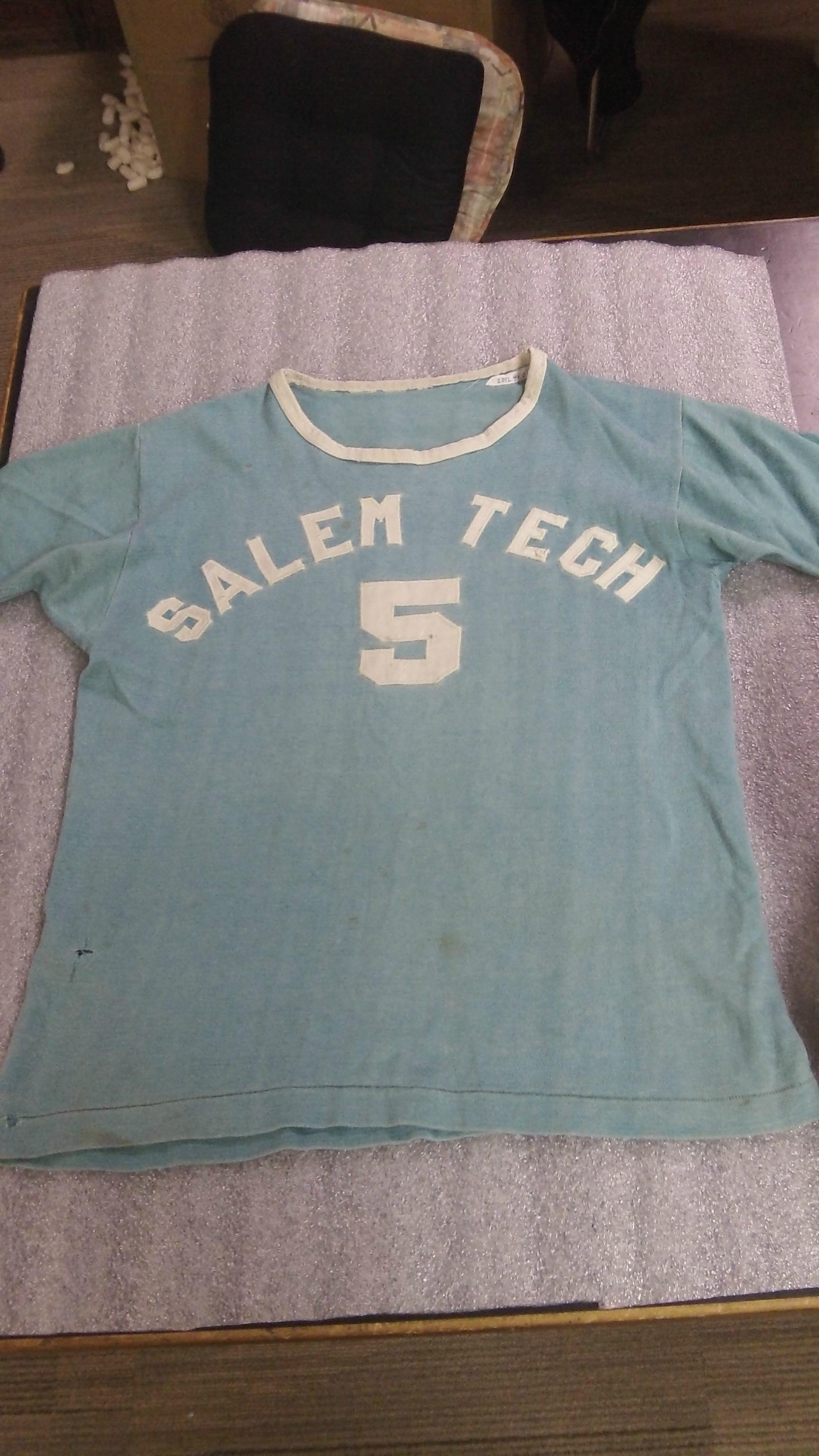Salem Tech Jersey.  2012.044.0002. WHC.