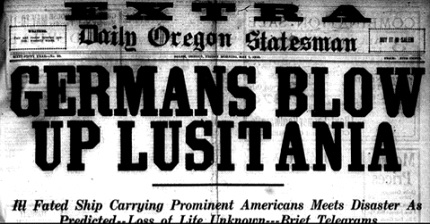 May 7, 1915 edition of the Daily Oregon Statesman.