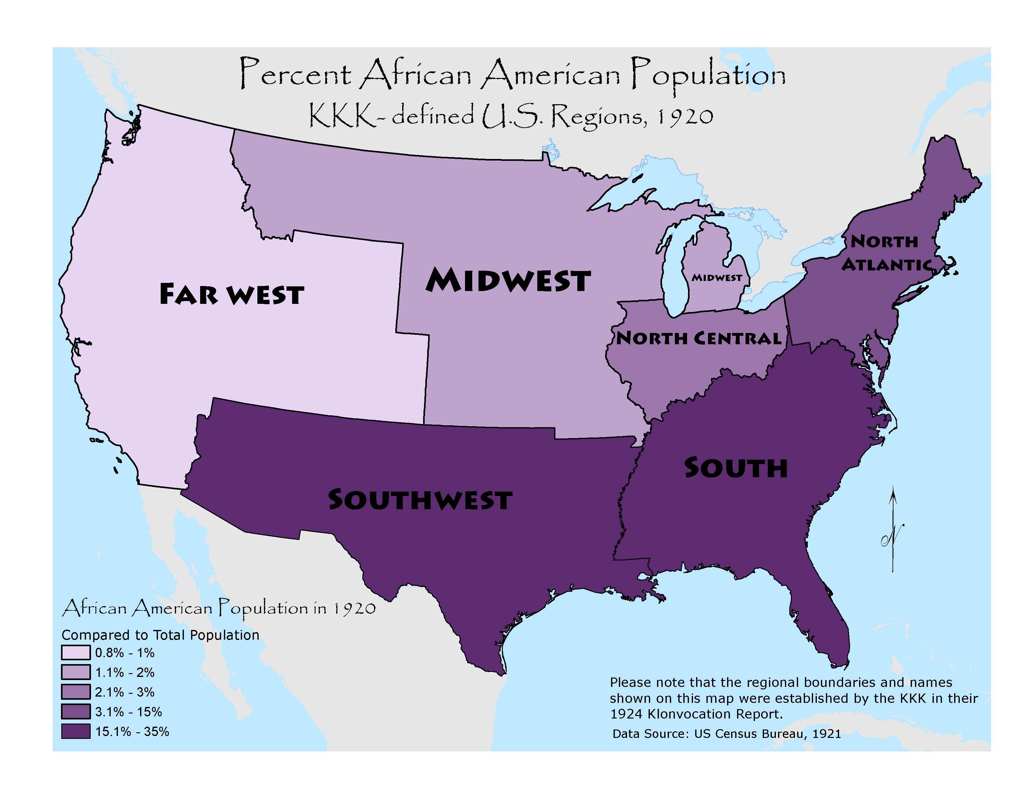 Professor Seeking Information About Women Of The Ku Klux Klan - Kkk map in the us