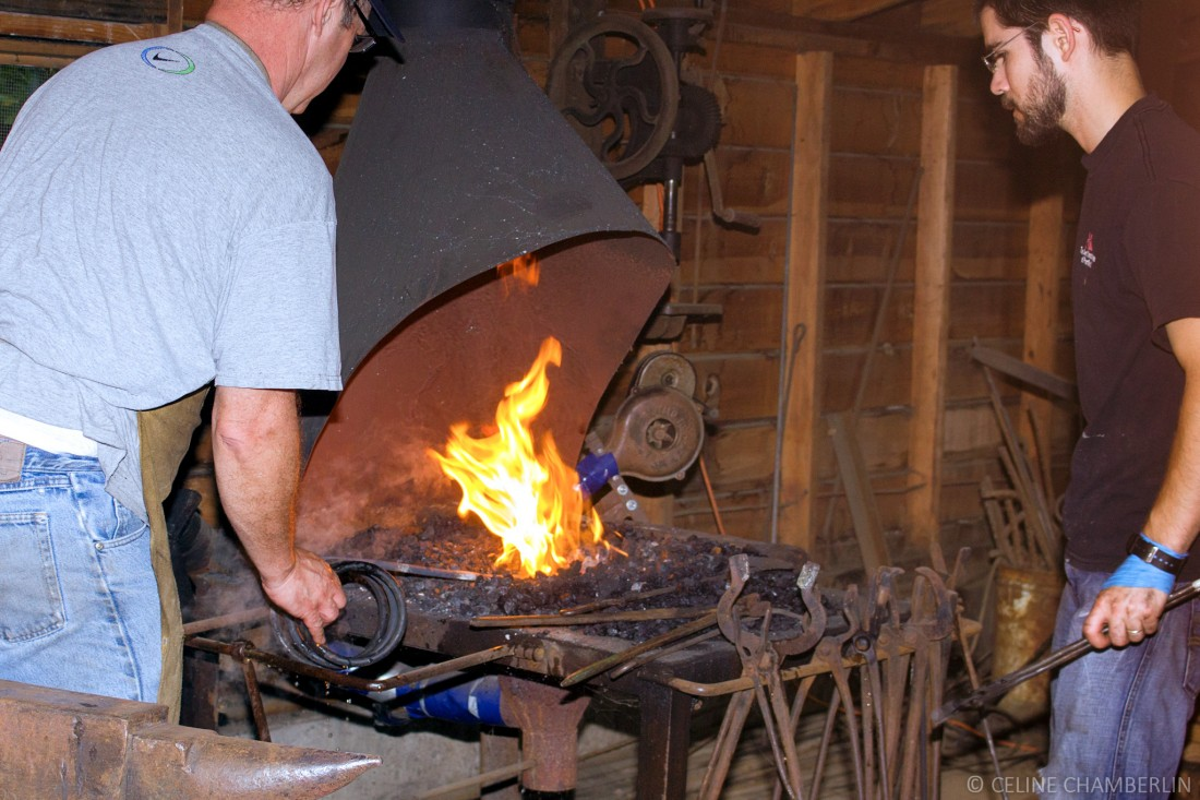 Urban Homesteaders: The Basic Blacksmith @ Willamette Heritage Center | Salem | Oregon | United States