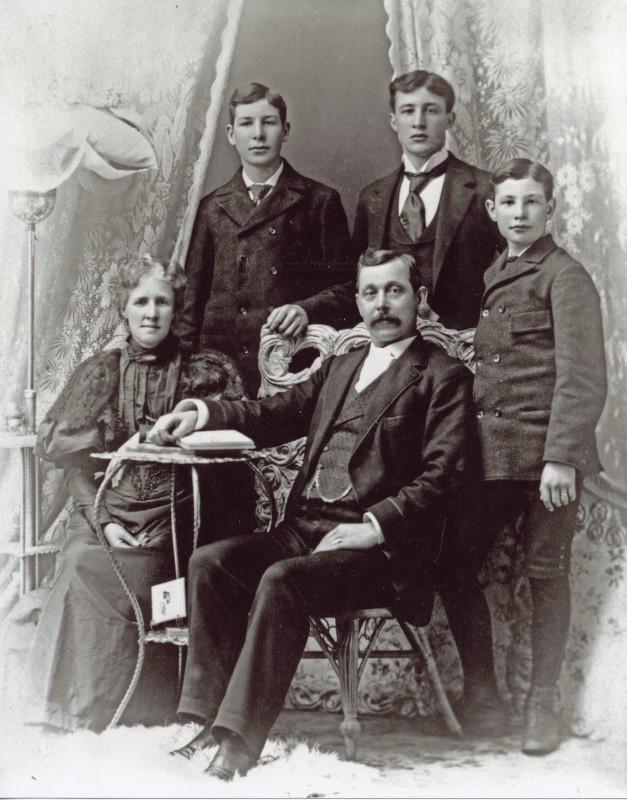C.P. Bishop family