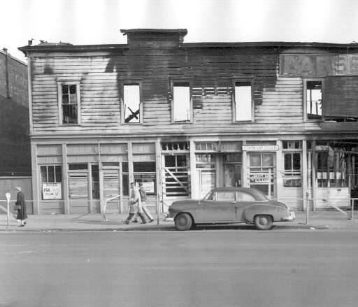 Former P.J. Larsen & Sons Building