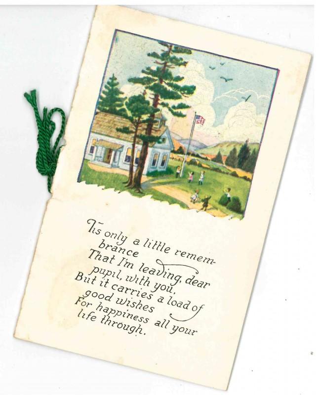 Cover of the Prospect School Souvenir Book.  WHC 2015.066.0431.