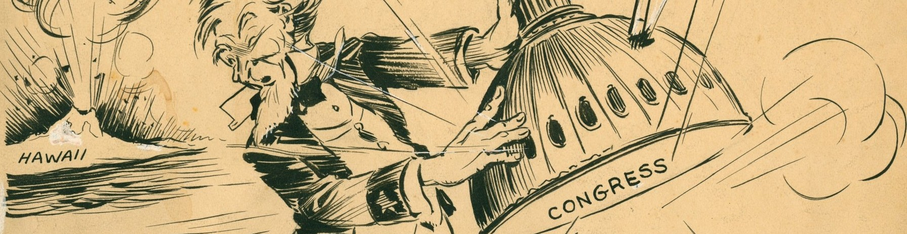 Political cartoons and other campaign art on display at Willamette Heritage Center special exhibit The Art of Politics