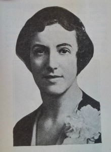 Hannah Martin, first woman elected to the Oregon State Legislature. Photo Credit - Oregon Voter, December 31, 1932