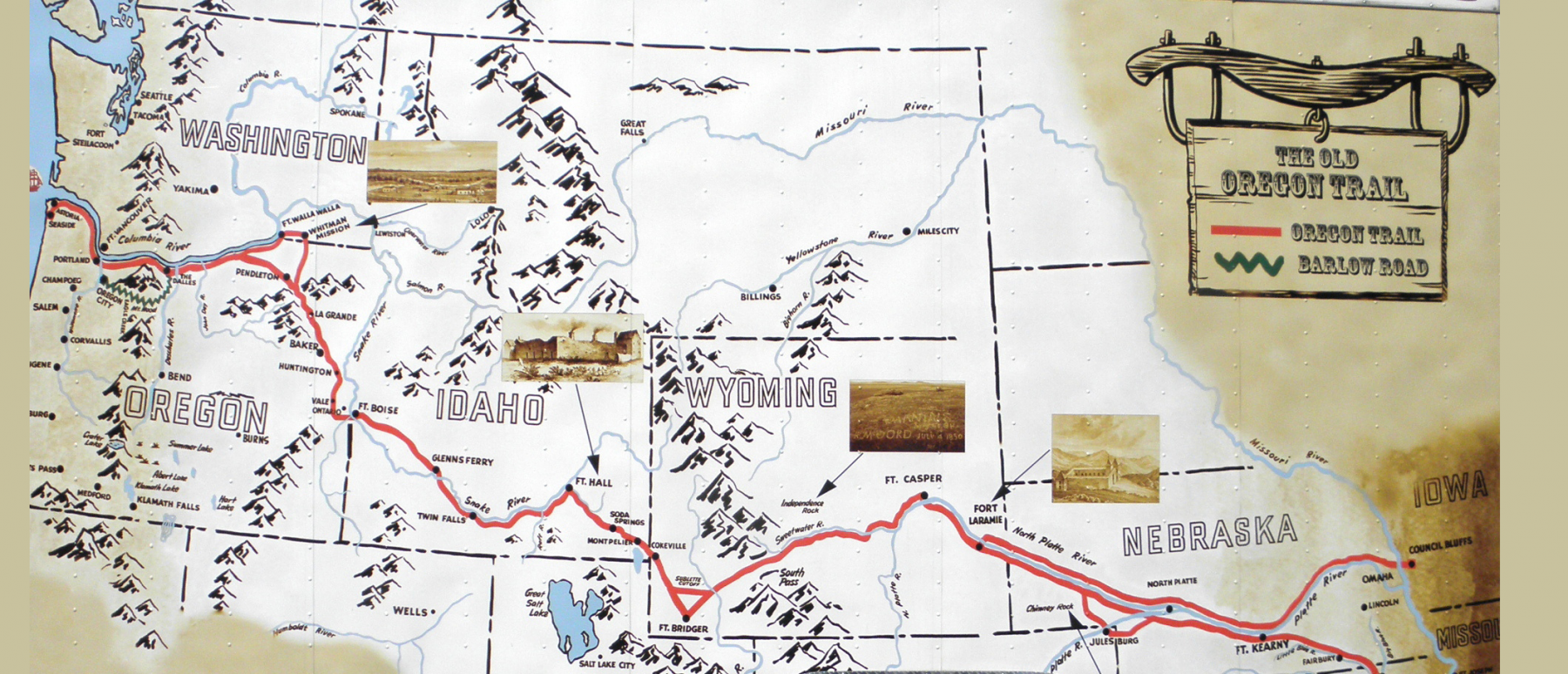 Oregon Trail Live at Willamette Heritage Center on Saturday, September 17th