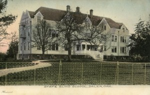 Postcard Oregon School for the Blind