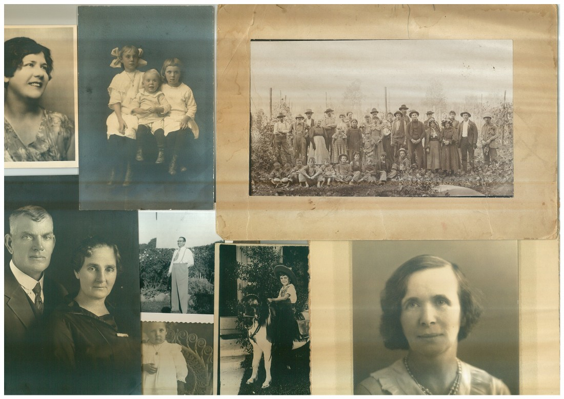 Grouping of unidentified photos from Accession 0082.029.0002.