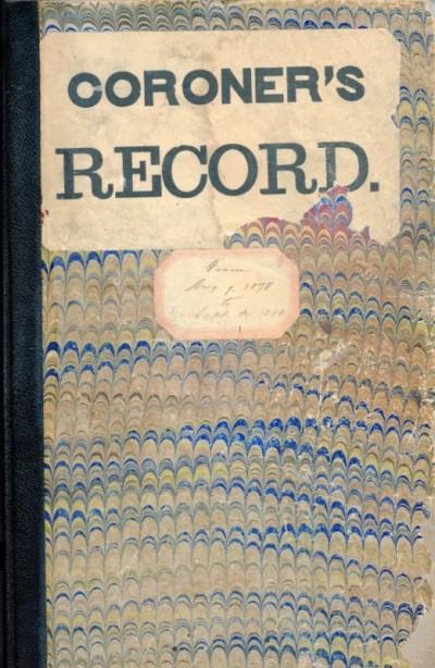 Coroner's Recordbook 2015.040.0001.