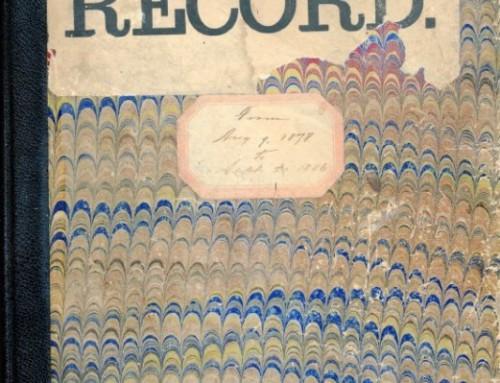 Coroner's Record, 1878-1886