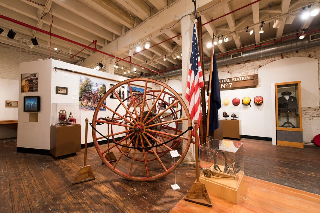 "Special Exhibit: ""Fire: Celebrating the 160th Year of the Salem Fire Department"""