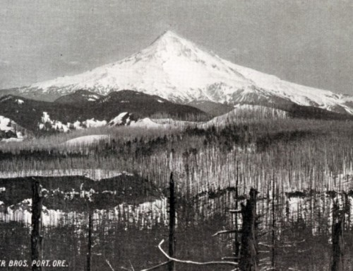 Fannie Case – the first woman to climb Mt. Hood?