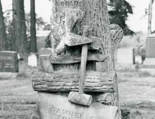 Samuel E. Tolman – Woodmen of the World Headstone
