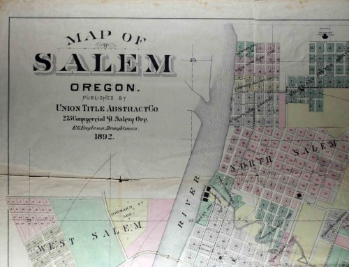 1892 Map of Salem