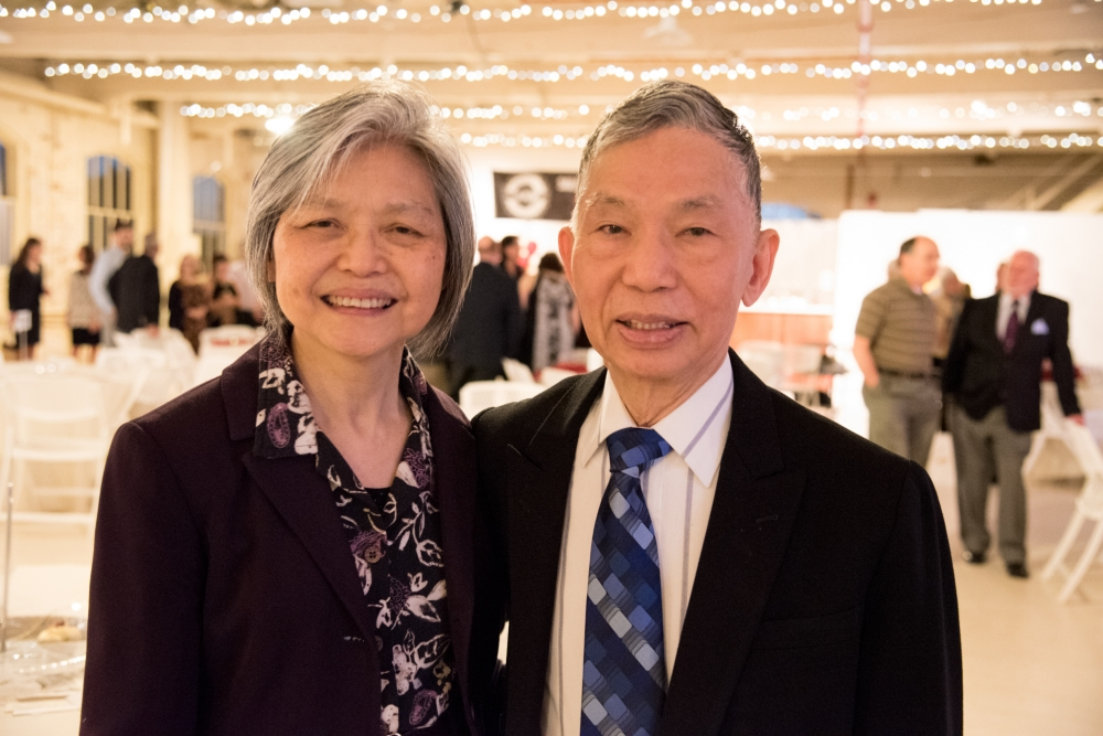 Mr and Mrs Kam Sang Kwan of Kwan's Original Cuisine in Salem